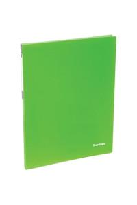 """115Папка c пружинным скоросшивателем Berlingo """"Neon"""", 17мм, 700мкм, неоновая зелёная, AHp_00802"""