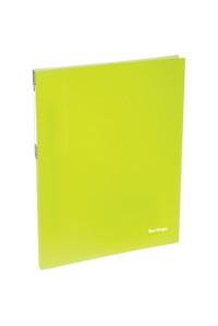"""115Папка c пружинным скоросшивателем Berlingo """"Neon"""", 17мм, 700мкм, неоновая жёлтая, AHp_00803"""