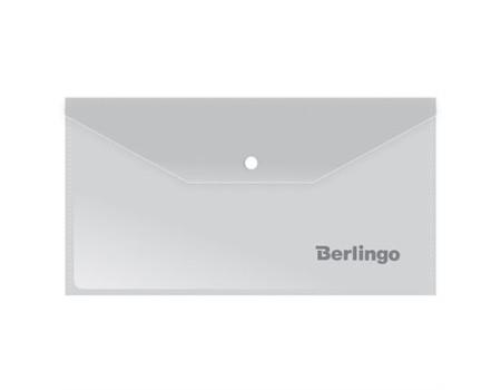 Папка-конверт на кнопке Berlingo, C6, 180мкм, матовая