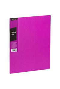 """Папка с 20 вкладышами Berlingo """"Color Zone"""", 14мм, 600мкм, розовая, AVp_20613"""