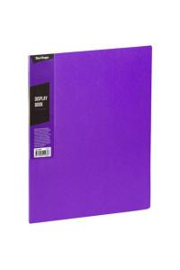 """Папка с 30 вкладышами Berlingo """"Color Zone"""", 17мм, 600мкм, фиолетовая, AVp_30607"""