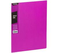 """Папка с 30 вкладышами Berlingo """"Color Zone"""", 17мм, 600мкм, розовая, AVp_30613"""