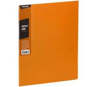 """Папка с 30 вкладышами Berlingo """"Color Zone"""", 17мм, 600мкм, оранжевая, AVp_30616"""