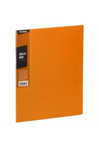 """116Папка с 30 вкладышами Berlingo """"Color Zone"""", 17мм, 600мкм, оранжевая, AVp_30616"""