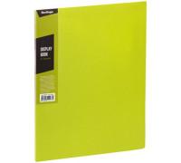 """Папка с 30 вкладышами Berlingo """"Color Zone"""", 17мм, 600мкм, салатовая, AVp_30619"""