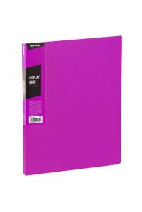 """Папка с 40 вкладышами Berlingo """"Color Zone"""", 21мм, 600мкм, розовая, AVp_40613"""