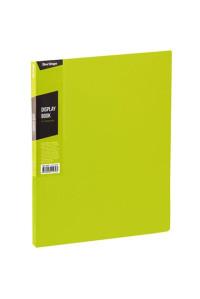 """Папка с 40 вкладышами Berlingo """"Color Zone"""", 21мм, 600мкм, салатовая, AVp_40619"""