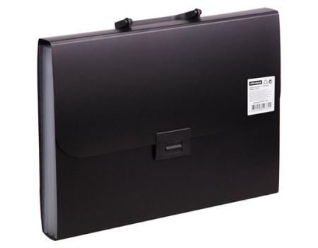 Папка-портфель  7 отделений OfficeSpace, A4, 330*235*35мм, 700мкм, чёрный