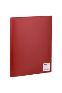 Папка с 10 вкладышами OfficeSpace, 9мм, 400мкм, красная, F10L3_276