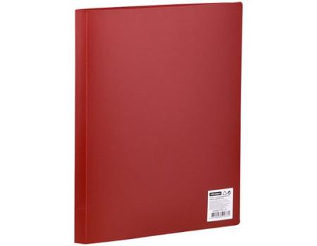 Папка с 10 вкладышами OfficeSpace, 9мм, 400мкм, красная