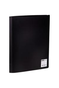 Папка с 20 вкладышами OfficeSpace, 17мм, 400мкм, чёрная, F20L1_283