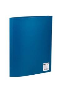 Папка с 20 вкладышами OfficeSpace, 17мм, 400мкм, синяя, F20L2_282