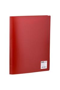 Папка с 20 вкладышами OfficeSpace, 17мм, 400мкм, красная ,F20L3_280