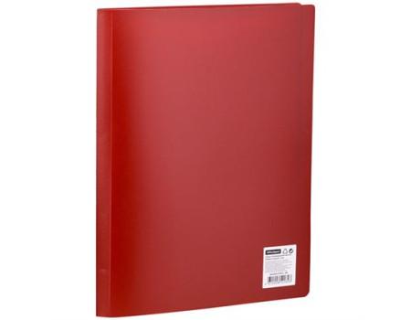 Папка с 20 вкладышами OfficeSpace, 17мм, 400мкм, красная
