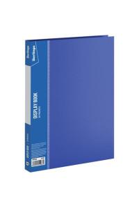 """Папка с 20 вкладышами Berlingo """"Standard"""", 14мм, 600мкм, синяя ,MT2428"""
