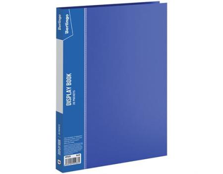 """Папка с 20 вкладышами Berlingo """"Standard"""", 14мм, 600мкм, синяя"""