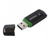 "114Память Smart Buy ""Paean""  32GB, USB 2.0 Flash Drive, черный, SB32GBPN-K"