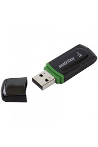"""Память Smart Buy """"Paean""""  32GB, USB 2.0 Flash Drive, чёрный, SB32GBPN-K"""