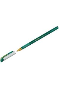 """Ручка шариковая Berlingo """"xGold"""" зеленая, 0,7мм, игольчатый стержень, грип, CBp_07503"""