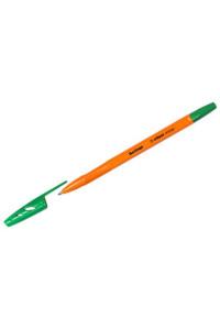 "Ручка шариковая Berlingo ""Tribase Orange"", зеленая, 0,7мм, CBp_70914"