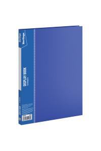 """Папка с 10 вкладышами Berlingo """"Standard"""", 9мм, 600мкм, синяя,MT2423"""
