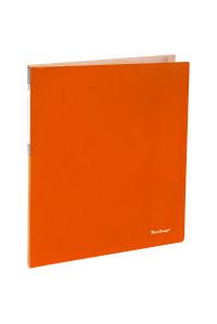 """Папка с 20 вкладышами Berlingo """"Neon"""", 14мм, 700мкм, неоновая оранжевая,AVp_20804"""