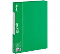 """Папка с 10 вкладышами Berlingo """"Standard"""", 9мм, 600мкм, зеленая, MT2420"""