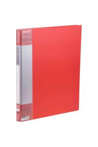 """Папка с 10 вкладышами Berlingo """"Standard"""", 9мм, 600мкм, красная,MT2421"""