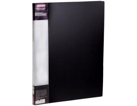 """Папка с 10 вкладышами Berlingo """"Standard"""", 9мм, 600мкм, черная"""